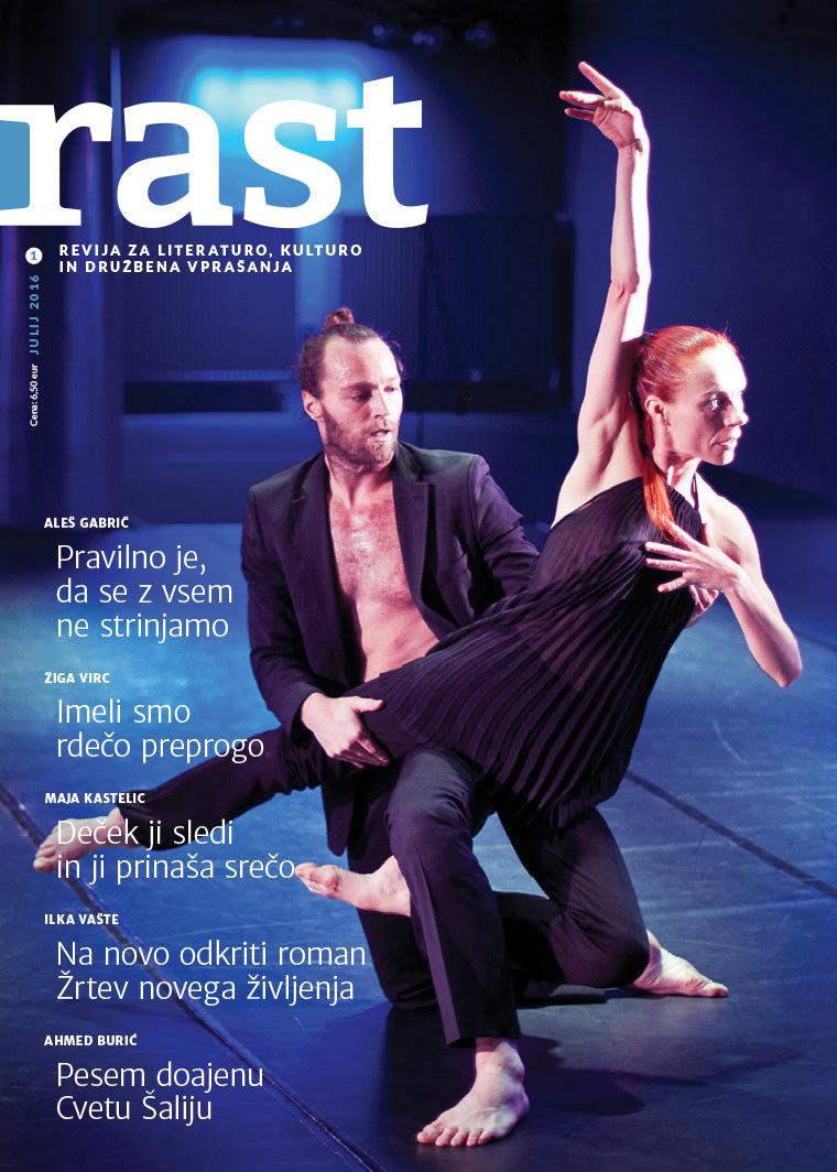 Revija rast: naslovnica julij 2016