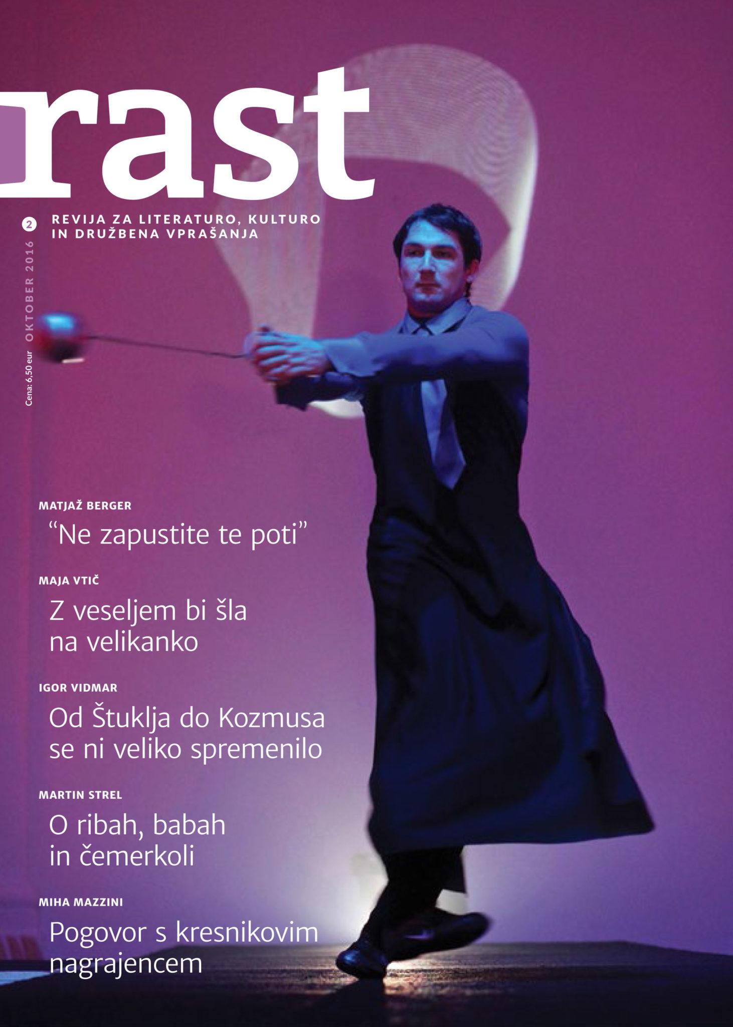 Naslovnica revije Rast - oktober 2016