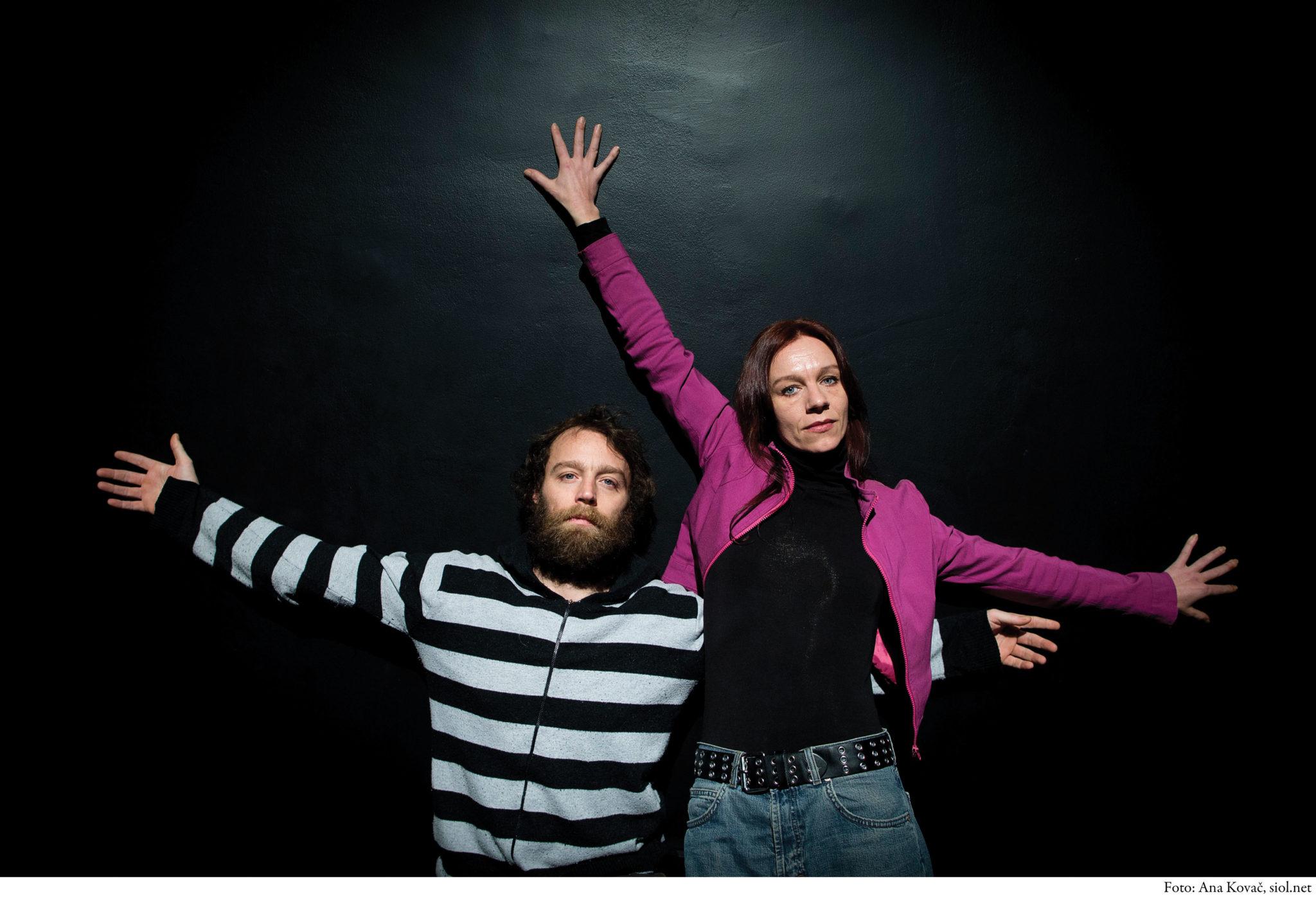 Rosana Hribar in Gregor Luštek